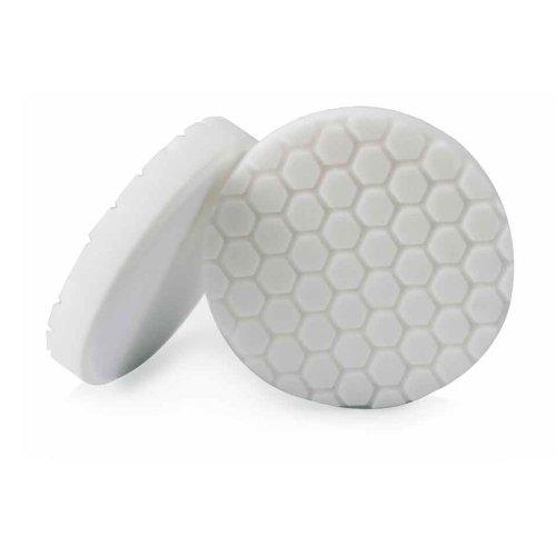 Chemical Guys BUFX_104_HEX6 Hex-Logic Light-Medium Polishing Pad White 65 Inch