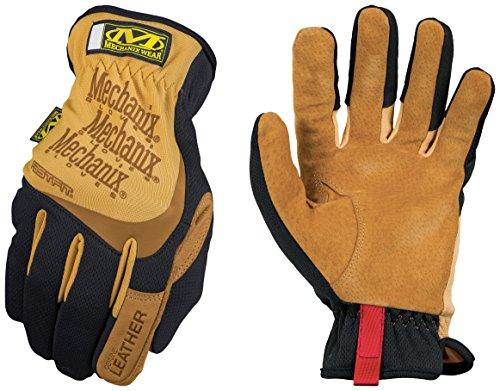 Mechanix Wear - Leather FastFit Gloves Medium BrownBlack
