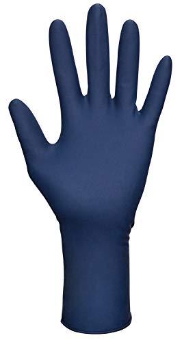 SAS Safety 6602-20 Thickster Powder-Free Exam Grade Gloves Medium 50-Pack
