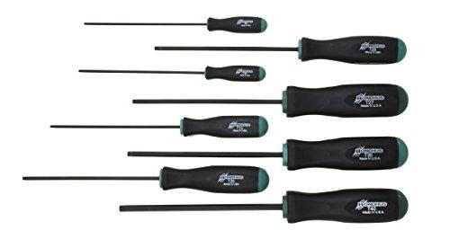 Bondhus 33834 Set of 8 Tamper Resistant Stardriver Tools sizes T9-T40