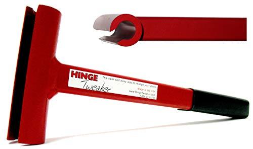 Hinge Tweaker Red Standard Weight Size for 134 Gauge Commercial Door Hinge Adjustment ToolHinge Bender