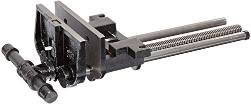 Yost 10047 Heavy Duty Ductile Iron Woodworkers Vise Rapid Action 10 Black