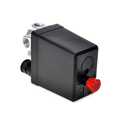 OrangeTag Air Compressor Pressure Switch Control Valve 90-120 PSI 240V