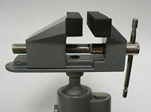 Vises Bench Swivel w Clamp 3 Tabletop Vise Tilt Rotates 360° Work Bench Tool