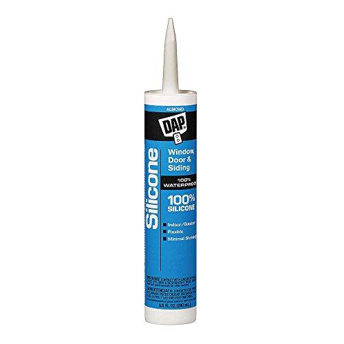 Dap 8649 Rubber Silicone Rubber Sealant Almond