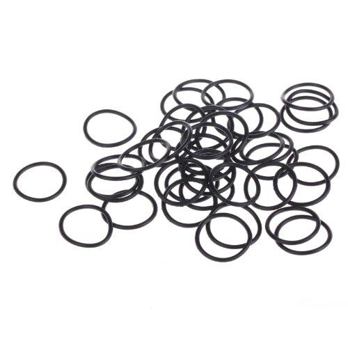 ZFE 100Pcs 19mm Rubber Metric O-Ring 14mm Diameter