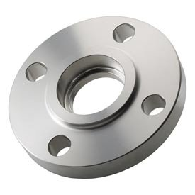 316 Stainless Steel Class 150 Socket Weld Flange 34 Female - Pkg Qty 3 Sold in packages of 3