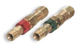 Radnor 916 - 18 B Brass AcetyleneOxygen Quick Connect Set