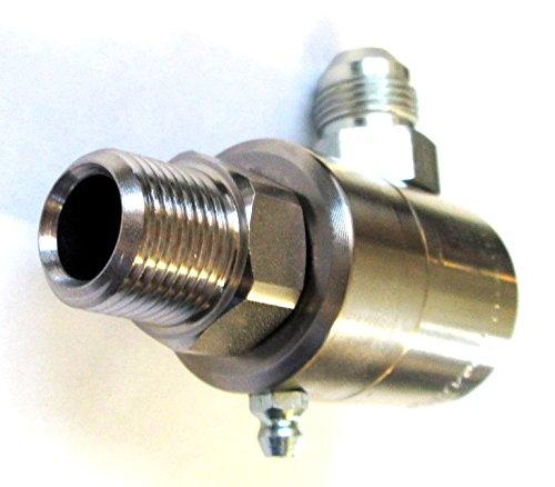 SS 9SS08MP50XMJ08-Z- - Super Swivel - 12 Male Pipe X 12 Male JIC - 90 Degree