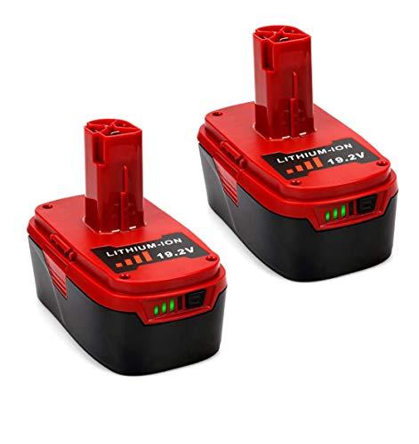 50Ah C3 192V Battery for Craftsman 192-Volt DieHard 130279005 Battery XCP 1323903 130211004 11045 315115410 315114852Pack