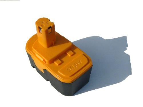 Replacement Ryobi 18V Battery 1300mAh NICD - Compatible with P100 P501 P300 P3200 P230 P700 P600 P530 P521 P510 P250 P221 P200 P500 P430 P420 P400 P240 P310 P220 P211 P740 P410 P540 P610 CCG-1801M CFA-180M CRH1801