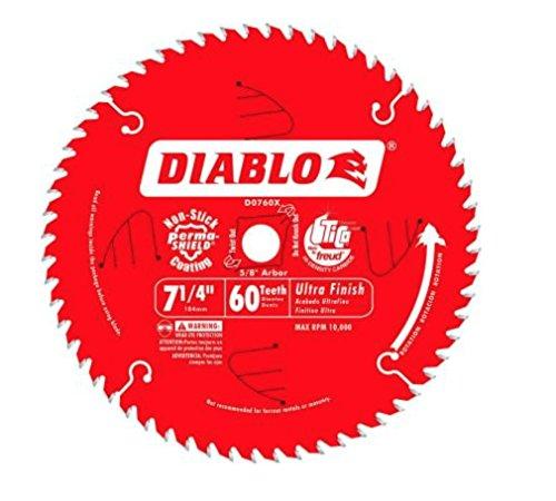 Diablo 7-14 in x 60 Tooth Carbide Circular Saw Blade