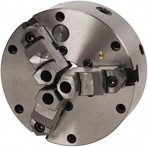 HHIP 3900-4576 3 Jaw Zero-Set Self-Centering Lathe Chuck 6 Diameter 1520 Center Hole 3400  rpm