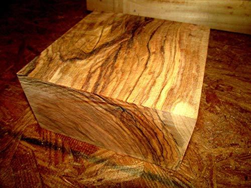 1 Piece of Beautiful Olive Bowl Blank Lathe Lumber Wood Turning 6 X 6 X 3