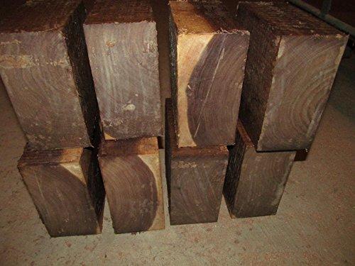 Legendary-Yes 8 Pieces Walnut Bowl Blanks Lathe Turning Block Wood Lumber 5 X 5 X 3 Inch GWE849F EP-21RT17310