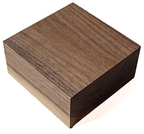 Wood Bowl Blank Walnut 6 x 6 x 3