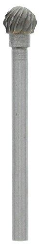 SE CB1864DD Double Cut Carbide Burr Shape D Ball