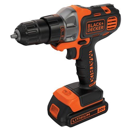 BLACKDECKER 20V MAX Matrix Cordless DrillDriver BDCDMT120C