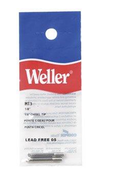 Weller Chisel Tip - 091 in Tip Length - 0125 in Tip Width - Chisel Tip Shape - MT3 PRICE is per EACH