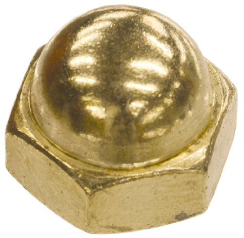 The Hillman Group The Hillman Group 851 Brass Acorn Nut 516-18 In 15-Pack
