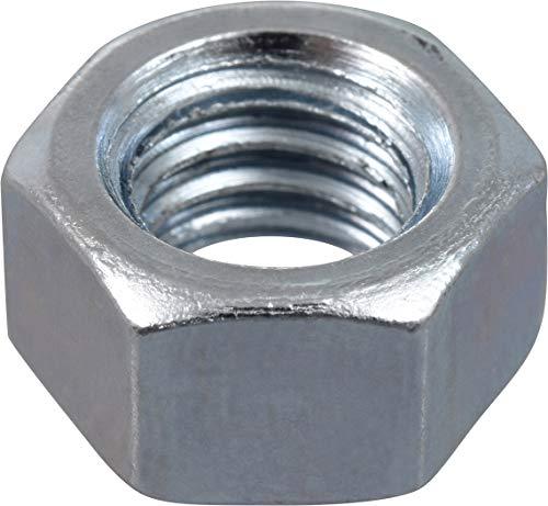 Hillman 150009 38 X 16-Inch 100-Pack Coarse Thread Hex Nuts 38-16 Steel 100 Pieces