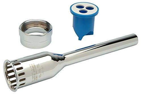 Zurn P6003-A-AA-CP 34 x 9 Flush TubeVacuum Breaker wNut-CP