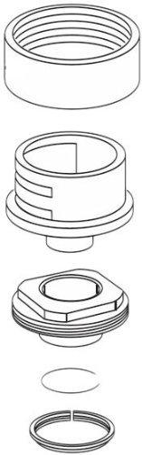 Moen 101483 Collar nut kit Chrome