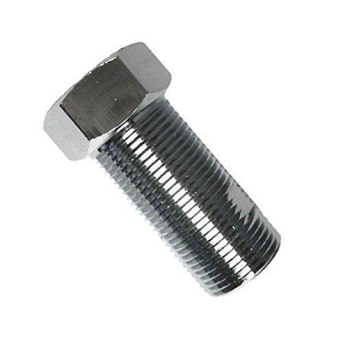 Kingston Brass Chrome Finish Extension Nut  Adapter 34 for Roman Tub Filler