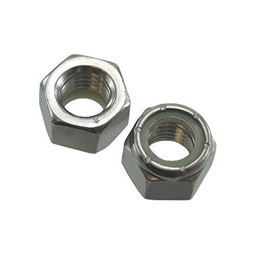 516 Stainless Steel Elastic Stop Nuts Pack of 12