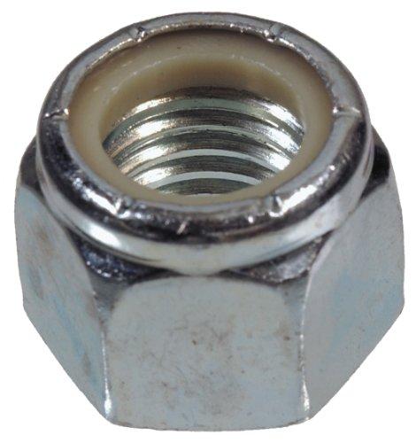 The Hillman Group 44897 M10-125 Fine Pitch Nylon Insert Stop Nut 15-Pack