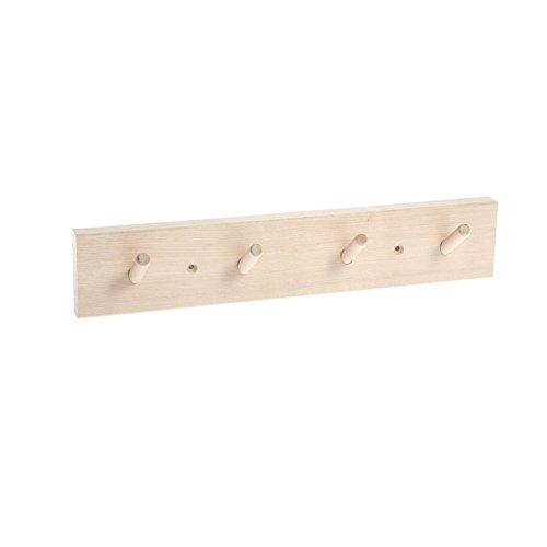 Iris Hantverk Birch Wall Rack - 4 Hook Design