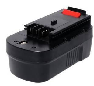 Replacement 18V 2000mAh Battery for Black Decker Firestorm FSB18 BD1834L BD-1834L B-8317 BPT1049 FSB 14 A18 HPB18 FS180BX FS18BX 244760-00 FS18JV FS18SBXBlack