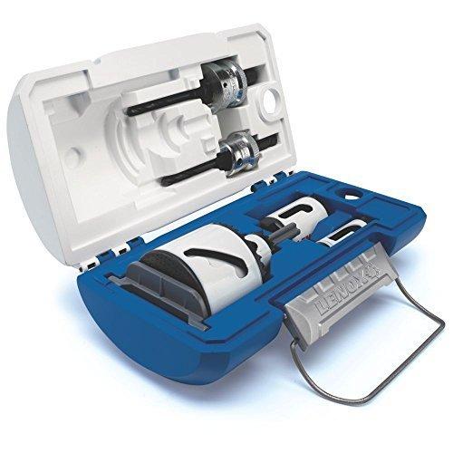 LENOX Tools SPEED SLOT Bi-Metal Hole Saw Kit 8-Piece Compact Electricians Kit 1815139 by Lenox Tools