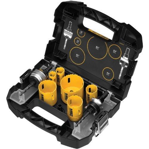 DEWALT D180001 Standard Plumbers Bi-Metal Hole Saw Kit by DEWALT