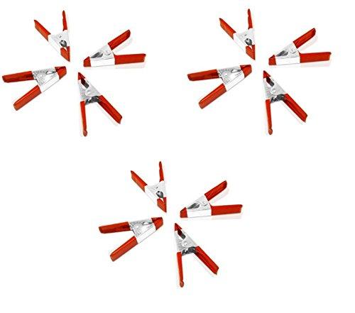 12 Pack - 4 Inch Spring Metal Clamps wholesale Bulk