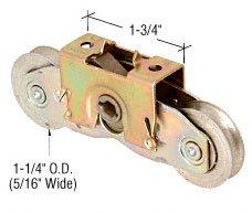 CRL 1-14 Tandem Steel Ball Bearing Roller Assembly for Andersen Doors