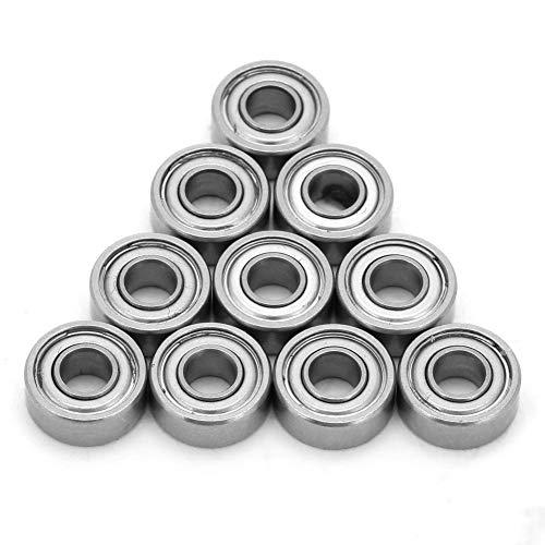 Liukouu 10pcsSet Stainless Steel Metal Ball Bearing MR104ZZ 4104mm