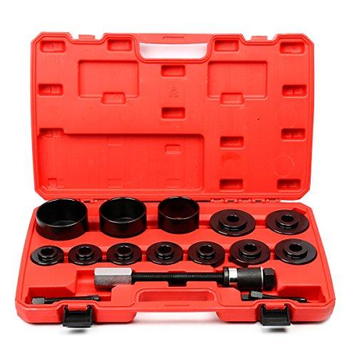 8milelake 19pc Master Set Front Wheel Hub Drive Bearing Removal Install Service Tool Kit
