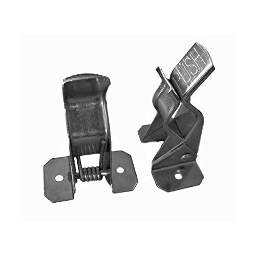 10 Bulldog Metal Spring Grip Clamps Tool Rack