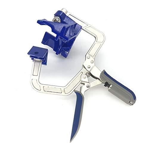 Auto-adjustable 90° Corner Clamp Right Angle Miter Clamps Tools Multifunction Corner Clamp Tools for Pro Wood-working Engineering Welding Carpenter