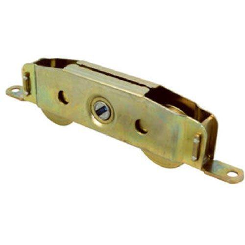 Slide-Co 13808-S Sliding Patio Door Roller Assembly 1-14 in  Wheel Diameter Steel Ball Bearing Wheels