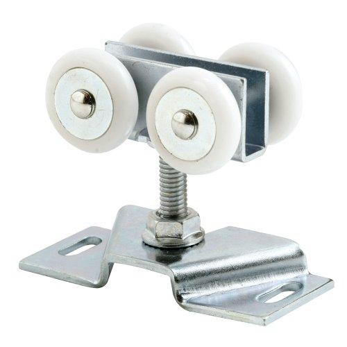 Slide-Co 164663 Pocket Door Roller and Bracket Nylon Ball Bearing WheelsPack of 2