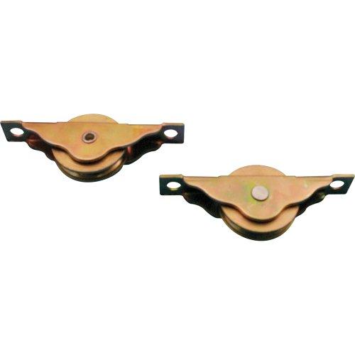 Slide-Co 16771 Closet Door Roller 1-316-Inch Steel Ball Bearing WheelPack of 2