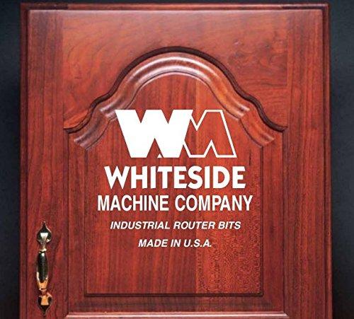 Whiteside Router Bits 5980 Shaker Profile Raised Panel Bit with 12-Inch Shank