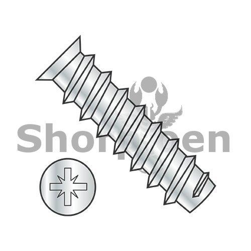 M63X18 Metric Pozi Alt Type1 Flat 70-73HD OD Euro Draw Slide Full Thrd Bright Nickel - Box Quantity 6000 BC-M6318DEZFN