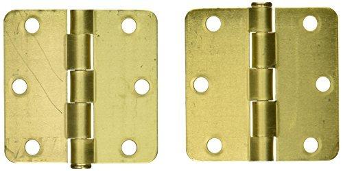 MINTCRAFT 33018SBB-BC3L Screen Door Hinge Satin Brass by Mintcraft