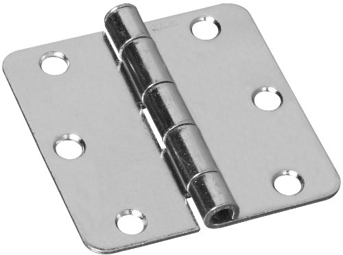 Stanley Hardware 3-by-3-Inch Screen Door Hinge Zinc Plated 2-Pack 814550