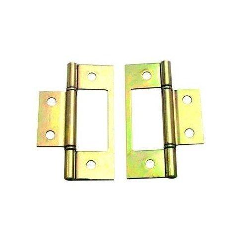 Barton Kramer Inc 22421794 Bi-fold Door Hinge - Brass 2pk