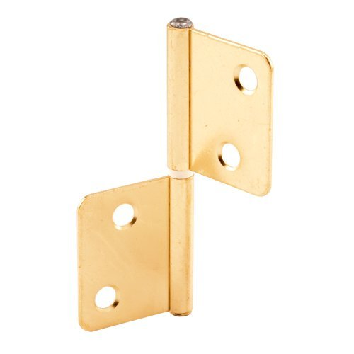 Prime-Line Products N 7025 Bi-Fold Door Hinge Brass Plated Steel by Prime-Line Products