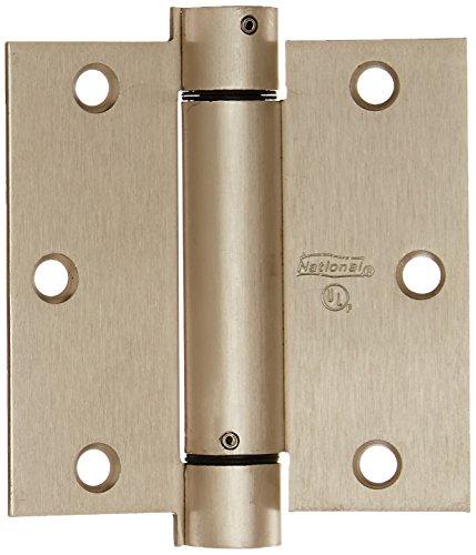 NATIONAL MFGSPECTRUM BRANDS HHI N350-777 Spring Door Hinge 35-Inch Satin Nickel
